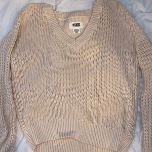 PINK victoria secret cropped sweater